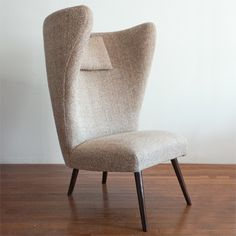 Wrenger, Wingback Chair, 1950s.