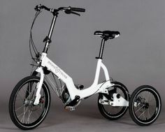 Electric Bike For Novices Sports Three Wheels : TreeHugger