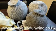 Day 22 & 23 of the 365 creative challenge. I have a bit of a #crochet #deathstar construction line going on here. I best get it tidied up before tomorrow's #art classes.   www.unravelandunwind.co.uk #handmade #crafts #medway #crochetproject #yarn #wool #starwars