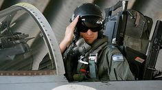 From Int'l human rights lawyer Arsen Ostrovsky's Twitter feed: Gr8 pic! Israeli pilot saluting before going into battle against Hamas in Gaza! Israel Under Fire IDF Hero!