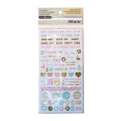 Buy the Uptown Chic Activity Stickers By Recollections™ at Michaels.com. Jot down your to-do list in style with these fun stickers by Recollections.