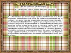 BIOGRAFIAS E COISAS .COM: CHICO XAVIER RESPONDE-A UNIFICAÇÃO E A IMPORTÂNCIA DO CENTRO ESPIRITA
