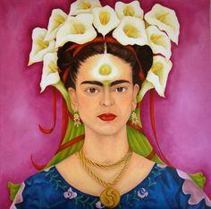 Frida Kahlo - Me and my parrots, 1941 | Frida kahlo ...