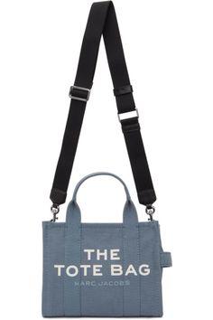 Designer Clothes, Shoes & Bags for Women | SSENSE Textile Logo, Patent Leather, Leather Flats, Blue Bags, Purses And Handbags, Marc Jacobs, Gym Bag, Shoulder Strap, Chanel
