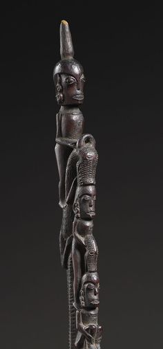 """batak shaman staff (Tunggal Panaluan). """"I stand on the shoulders of my guides."""" ~Johnny."""