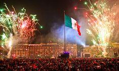 Ciudad de México el 15 de Septiembre en la noche :D