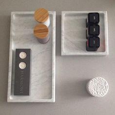Marmorbricka med kant - Inredningssten