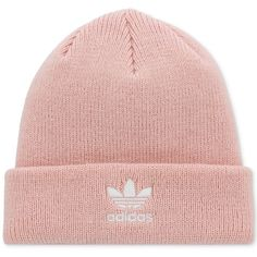 68a9233c535 adidas Originals Trefoil Knit Beanie (68 PLN) ❤ liked on Polyvore featuring  accessories