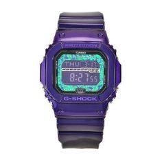 Casio Mens GLS5600KL-6 G-Shock Purple Digital Dial Chronograph Watch
