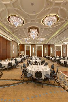 Hilton Hotel Bursa, Turkey. #conference #room #chandelier #event #meeting #lighting #design #bohemian #crystal