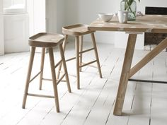 Kitchen/Diner - Our Bumble stool is perfect for all you kitchen loiterers out there. It's made out of solid oak and is given a good sand-blasting for a lived-in feel.
