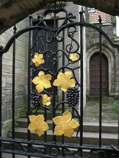 Decorative Gate - St Andrews, Scotland | Flickr - Photo Sharing!