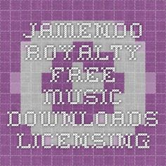 Jamendo - Royalty free music downloads - Licensing, Creative Commons