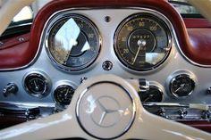 1955 Mercedes-Benz 300 SL Gullwing.