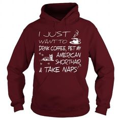 Drink coffee and pet my American Shorthair  Hoodie T-Shirts, Hoodies ==►► Click Order This Shirt NOW!