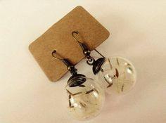 Dandelion wish earrings Handmade Jewelry, Unique Jewelry, Handmade Gifts, Dandelion Wish, Take That, Drop Earrings, Jewels, Jewellery, Trending Outfits