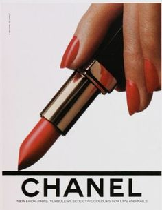 The 30 best red nails of all time: Chanel red lipstick and manicure