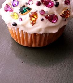 Bedazzled cupcake