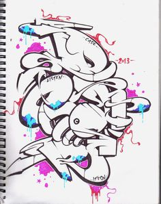 by on DeviantArt Graffiti Piece, Graffiti Words, Graffiti Tattoo, Graffiti Tagging, Graffiti Drawing, Graffiti Images, Graffiti Designs, Graffiti Styles, Graffiti Lettering Alphabet