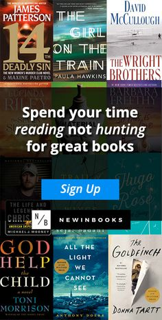 Be the first to know about the hottest new books in your favorite genres. We scour the web to find the best books that are bound to be bestsellers. We'll send you one email a week, chock full of brand new releases that you're bound to love.  Become a Book Insider at NewInBooks!