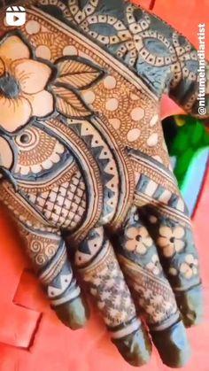 Latest Bridal Mehndi Designs, Mehndi Designs 2018, Dulhan Mehndi Designs, Mehandi Designs, Beginner Henna Designs, Heena Design, Henna Tattoos, Reality Quotes, Hand Henna