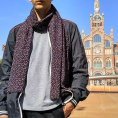 Bufanda hombre edición limitada, moda sostenible Look by LyLy Bomber Jacket, Jackets, Fashion, Sustainable Fashion, Scarves, Black, Elegant, Men, Down Jackets