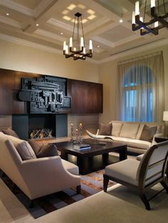 Shop This Look: Grand Contemporary Living Room With Striking Details >> http://photos.hgtv.com/rooms/viewer/living-space/living-room/modern/modern-neutral-living-room-with-striking-design-details?soc=pinterest