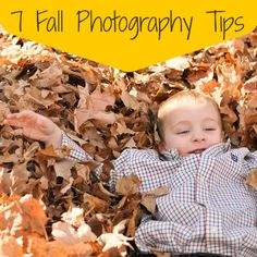 7 Fall Photography Tips #photography
