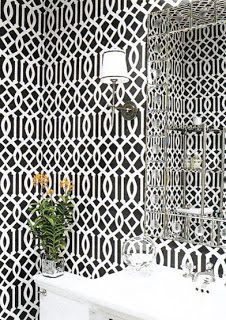 green trellis wallpaper schumacher - photo #8