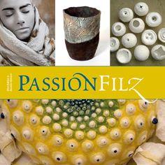 Felt Passion by Ellen Bakker and Ricarda Abmann Textile Fiber Art, Textile Artists, Fibre Art, Nuno Felting, Needle Felting, Felt Books, Artwork Online, Tattoo Henna, Textiles