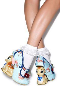 Irregular Choice Cherry Deer Heels