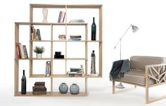 WEWOOD is a Portuguese brand that believes in elevating the high-end joinery by producing superb solid furniture that promotes portuguese culture and design. Solid Oak Bookcase, Oak Bookshelves, Bookshelf Design, Lounge, Shelving, Home Goods, Furniture Design, Interior Design, Home Decor