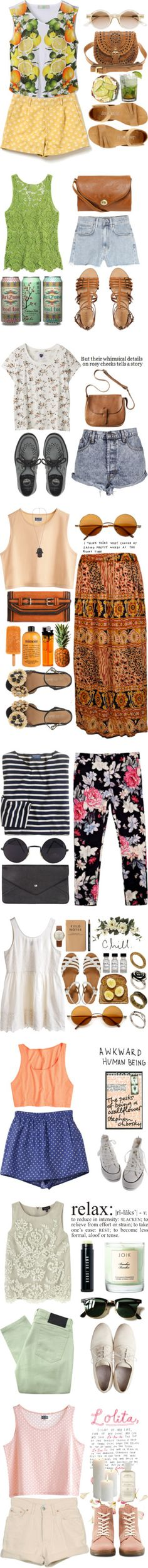 Spring + Summer. A collection of Pinterest outfits