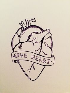 Day 48: Give Heart, please -  Organ Donation Week #100daysofdoodles #drawingchallenge #doodlechallenge #blackandwhitedrawings #beanorgandonar #organdonation #heartdrawing