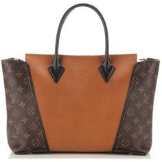 LOUIS VUITTON Monogram Cuir Orfevre Tote W PM Noisette ❤ liked on Polyvore featuring bags, handbags, tote bags, monogram tote, tote handbags, hand bags, monogrammed tote bags and brown tote handbags