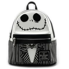 Loungefly x The Nightmare Before Christmas Jack Cosplay Faux Leather... (80 CAD) ❤ liked on Polyvore featuring bags, backpacks, mini bag, faux-leather backpacks, fake leather backpack, vegan bags and day pack rucksack