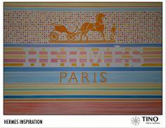 An endless source of inspiration.  Creativity meets innovation.  Luxury meets art.  Art is craftsmanship.  #art #painting #hermès #horse #paris http://www.facebook.com/TinodenWeiss