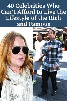 Celebrities are known for living the life of the rich and famous. From million-dollar homes and luxury cars to designer clothes and jewelry,