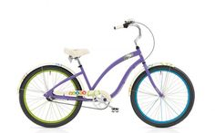 Remember fun? Imagine where you could go on a PEACE 3i 24    by Electra--available in purple, purple. Explore the wide variety of stylish, creative designs and find the perfect Cruiser to suit your individuality and imagination.