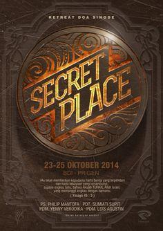 """poster """"Secret Place"""""""