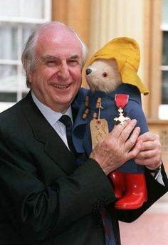 LONDON, June 28 (Reuters) - Michael Bond, the British creator of Paddington Bear, a marmalade sandwich-loving refugee from Peru who entertained generations of children with his exploits in London, died on Tuesday aged 91 after a short illness. Paddington Bear Party, Literary Characters, Kid Character, Bear Art, Children's Literature, Illustrations, Book Authors, Childhood Memories, 1970s Childhood