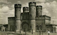Кёнигсберг. Ворота крепости Фридрихсбург. Фото ок. 1935 года.