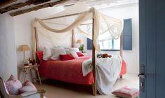 dormitorio estilo folk