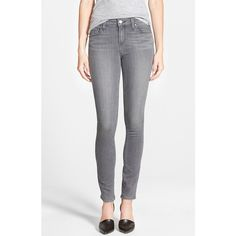 Paige Denim 'Transcend - Verdugo' Ultra Skinny Jeans ($179) ❤ liked on Polyvore
