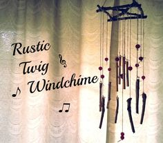 D.I.Y. Twig Windchime #decoration