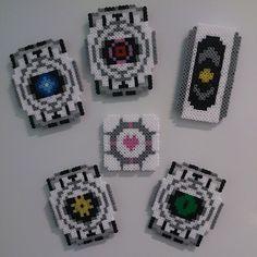 Portal set perler fuse beads by omglinno
