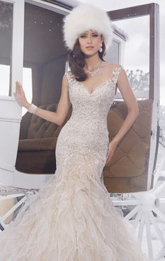 fe8f31354848 Charm everyone on the best day of your life in Sophia Tolli Y21502. This  wedding