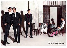 Dolce & Gabbana spring/summer 2015 campaign feat. José Mari Manzanares