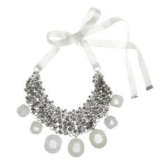 mytheresa.com - Olias crystal-embellished stone necklace