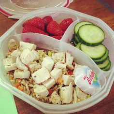 Healthy lunchtime inspiration | The Slender Student